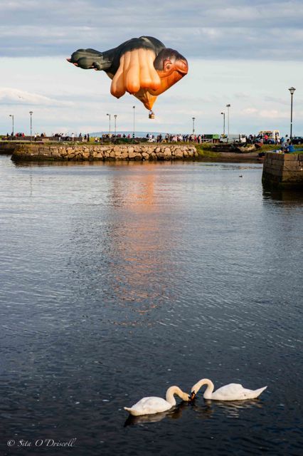 Photographer, Sita O'Driscoll, Skywhale, Galway Arts Festival 2015, GIAF15, Galway, Ireland
